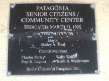 PSCC dedication placque